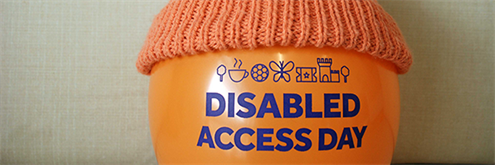 Disabled Access Day balloon