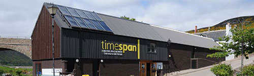 Photograph of the exterior of Timespan museum