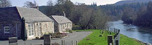 Photograph of Crathie holiday cottages