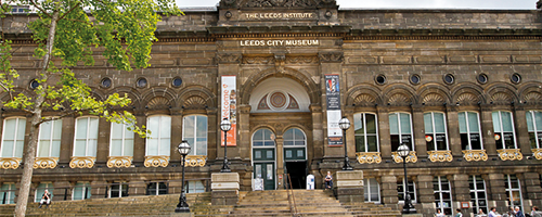 Photograph of the front of Leeds City Museum