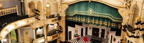 Photograph of the interior of Buxton Opera House