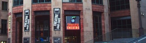 Photograph of the exterior of Traverse Theatre