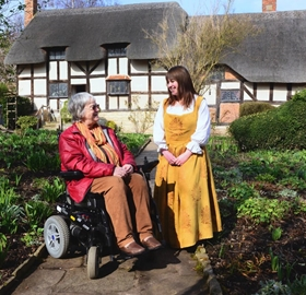 A special Disabled Access Day for the Shakespeare Birthplace Trust