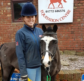 Trot around Bristol's Church Farm Equestrian Centre!