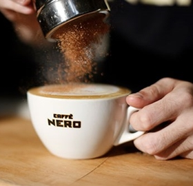 Enjoy a complimentary hand crafted coffee courtesy of Caffè Nero