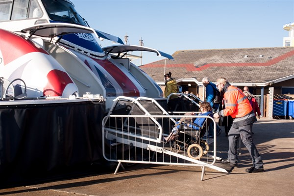 Disabled Access Day At Hovertravel - Press